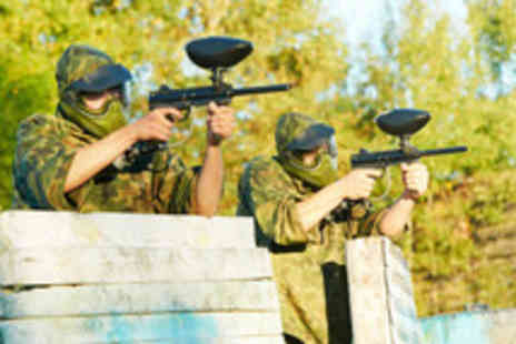 Allout Adventures - Paint Balling Day - Save 86%