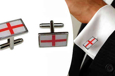 Onevolution - World Cup with these St George World Cup Cufflinks - Save 71%