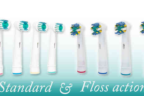 Savvy Mummys - 4 Oral B Toothbrush Heads  - Save 94%