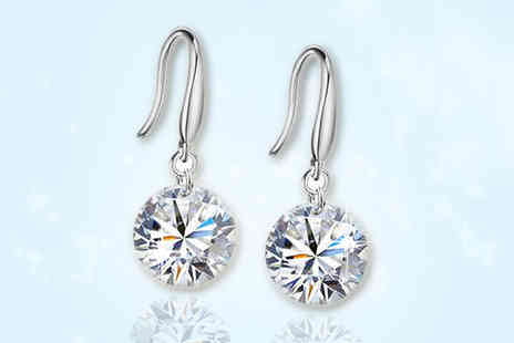 Savvy Mummys - Elegant Swarovski Elements Drop Earrings  - Save 95%