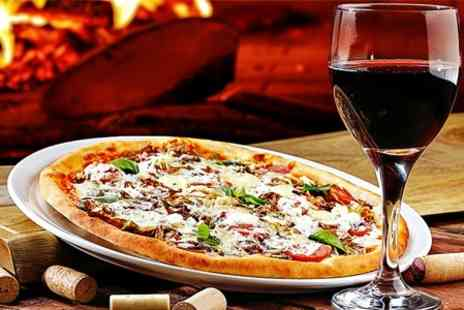 Da Maria - Pizza or Pasta Plus Wine For Two  - Save 50%