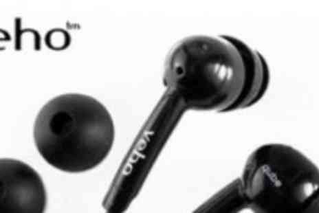 Veho - Qube Stereo Noise Isolating Earphones for iPod/ iPhone/ MP3/ Phone/ iPad/ Smartphone/ Tablet - Save 68%