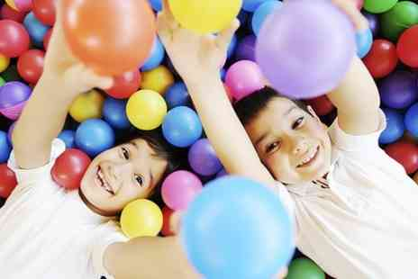 Oceans of Fun - Soft Play and Drink For Two Kids  - Save 0%