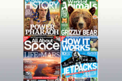 Imagine Publishing - Voucher for a Subscription to a Choice of Four Monthly Knowledge Magazines - Save 17%