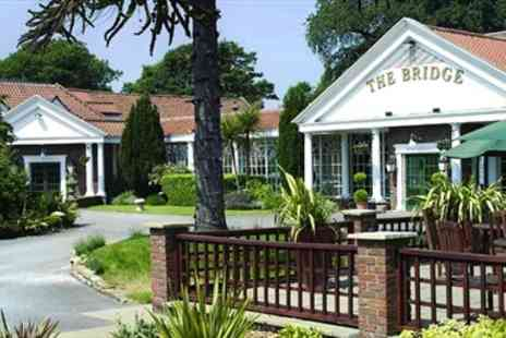 The Bridge Hotel -  Four Star Getaway with Five Course Dinner - Save 48%