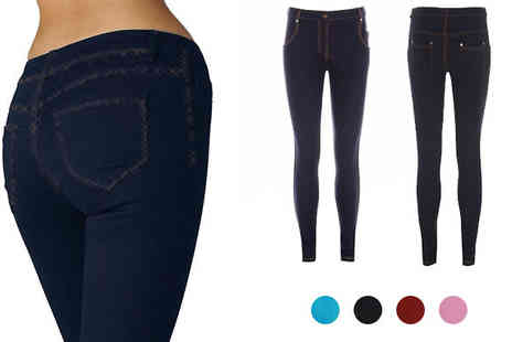 Something About Fashion -  Skinny Jeggings - Save 65%
