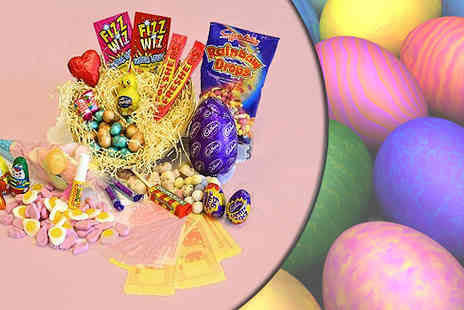 Lulus Sweets -  Easter Gift Nest Hamper - Save 63%