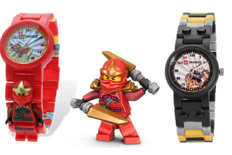 Click For Games - Lego Star Wars and Ninjago Watches - Save 19%