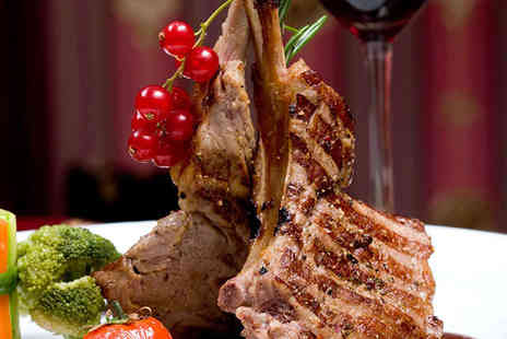 Rakonto Bar and Grill - Three Course Meal for Two People  - Save 52%