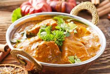 The Indian Cottage - The Indian Cottage Two Courses For Two - Save 56%