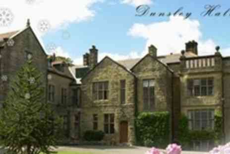 Dunsley Hall Country - One Night Break For Two With Breakfast - Save 54%