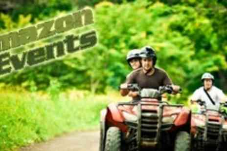 Amazon Outdoor Events - One Hour Quad Biking Experience For One - Save 60%