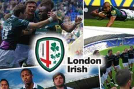 London Irish - Two Tickets to Watch London Irish Rugby Club v Sale Sharks, Northampton Saints, or Cardiff Blues - Save 69%