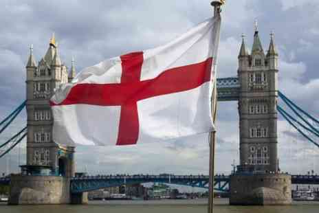 West End on the Thames - St. Georges Day Boat Party Ticket - Save 57%