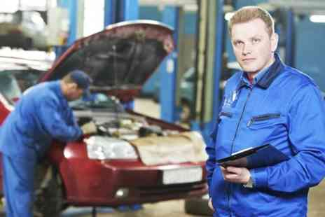 KNH MOT & Service Centre - Car Air Conditioning Service With Re Gas - Save 55%
