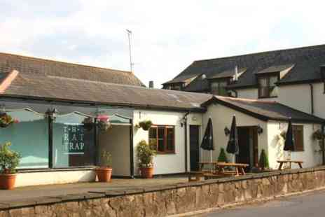 The Rat Trap Inn - One Night Stay For Two With Breakfast in Monmouthshire - Save 56%