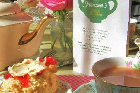Jamesons Cafe - Afternoon tea for 2  - Save 52%