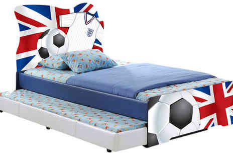Visco Therapy Direct - Kids Football Bed with Optional Mattress & Trundle - Save 58%