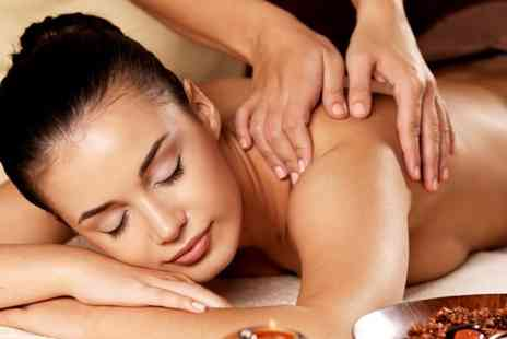 Reflective Beauty - Pamper package including a Kaeso facial back massage and mani pedi - Save 70%