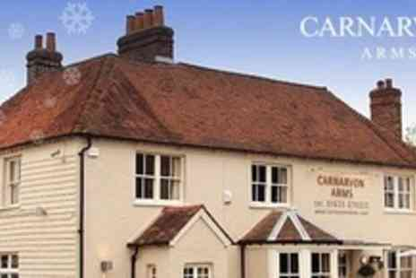 Carnarvon Arms - Two Night Stay For Two With Breakfast Each Day Plus a Three Course Meal - Save 51%