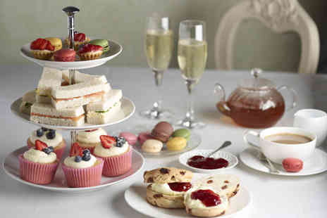 Hellaby Hall Hotel - Afternoon tea for 2 including a glass of bubbly  - Save 52%