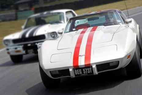 Classic American Muscle - VIP Behind The Scenes Tour of Brands Hatch  - Save 63%