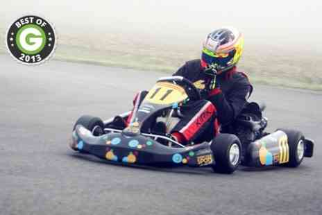 Elk Motorsport - Karting 35 Laps on 600m Outdoor Circuit - Save 56%