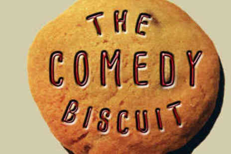 UK Comedy - Two Tickets to Comedy Biscuit with Five Bottles of Beer - Save 56%