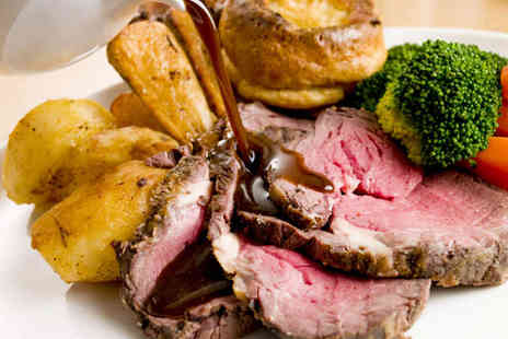 Town Hall Tavern - Sunday Lunch with Choice of Two Starters or Two Desserts and Two Main Sunday Lunch Dishes for Two  - Save 52%