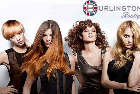 Burlingtons - Give your hair a well needed Cut, Conditioning Treatment, Restyle and Blow Dry  - Save 74%