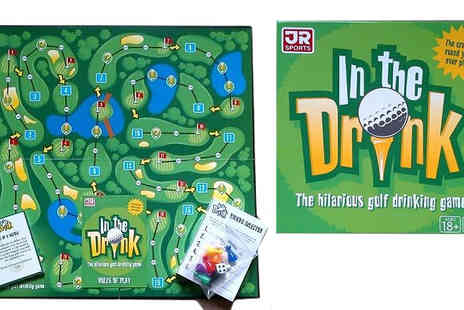 S Ball Enterprises - Golf Drinking Board Game - Save 40%