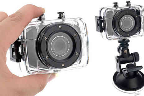 Xyte - Waterproof Digital Action Camera & Video Recorder