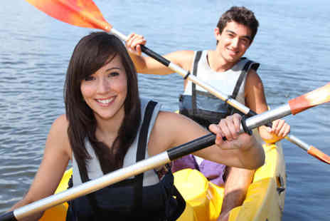 Paddlepower and Adventure - Four hour introduction to kayaking - Save 53%