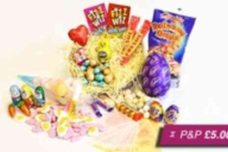 LuLus Sweets - Deluxe retro Easter Gift Nest - Save 70%