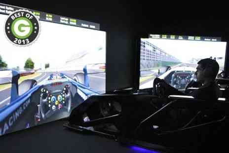 The Race Centre - Racing Simulator Session For Two  - Save 47%
