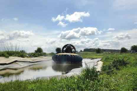 Hoverdays - Hovercraft Experience  - Save 52%