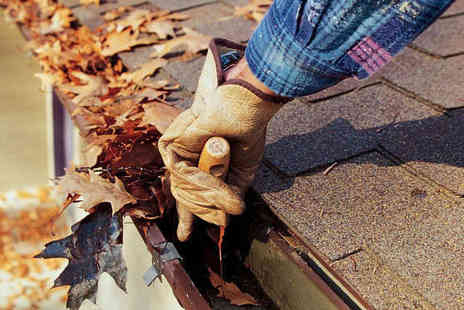 Mr Guttering - Gutter Cleaning for up to Four Bedroom House - Save 55%