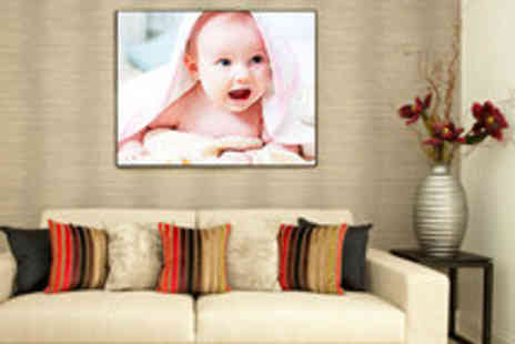 Photoworld - Voucher for a Personalised Photo Canvas  - Save 59%