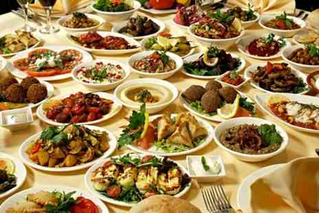 Waterfall Restaurant - Two Course Lebanese Meal  - Save 51%