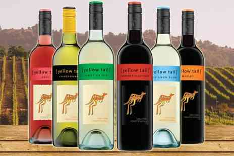 The Oakbridge Wine Company - Case of Six Yellow Tail Wine - Save 38%