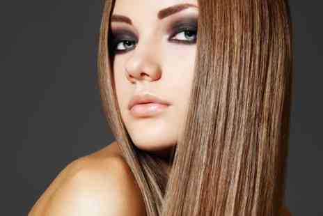 Salon & Training - Restyle cut wash blow dry, GHD styling and Bumble & Bumble treatment  - Save 66%
