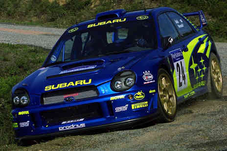 Sportech Motorsport - Rally taster experience including 5 driving laps  - Save 51%