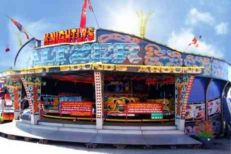 Knightlys Funfair - All Day Entry wristbands for one - Save 50%
