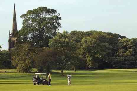 Oulton Hall Golf - 18 Holes of Golf With 100 Range Balls  - Save 73%