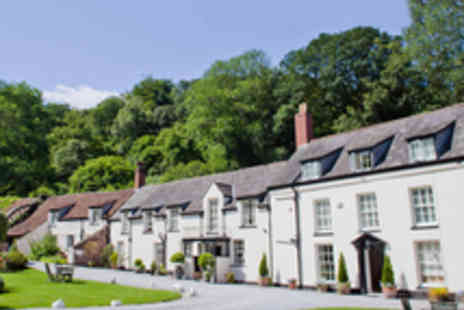 Combe House Hotel - Charming Boutique Somerset Stay for Two with Cream Tea