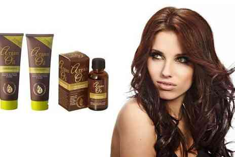 Fragrances Cosmetics Perfumes - Argan Oil Hair Care Pack - Save 85%