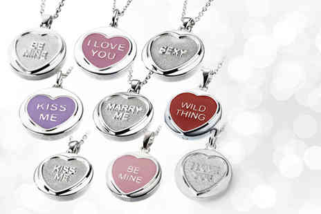 C W Sellors - Classic Love Hearts pendant in a choice of designs - Save 49%