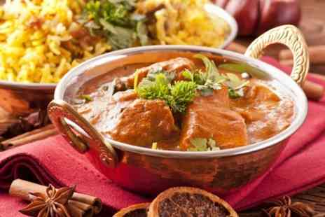 Ve Raj Restaurant - Two Course Indian Meal For Two  - Save 58%