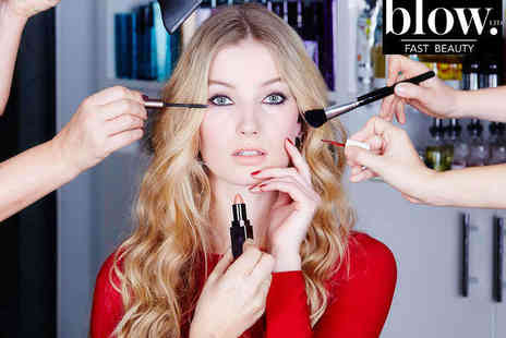 Bloww - Fast Beauty Package Including Blow Dry Make-Up and Nail File and Polish - Save 40%