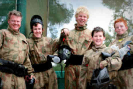Horizon Paintball - Full day paint balling plus equipment - Save 91%
